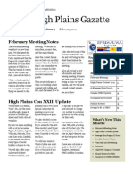 High Plains Gazette Vol 4