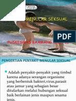 1.C. INFEKSI MENULAR SEKSUAL