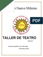 Taller de Teatro Mes de Marzo 2021