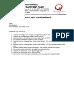 evaluasi kinerja karyawan lanjut kontrak