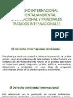 DERECHO INTERNACIONAL AMBIENTAL Y PRINCIPALES TRATADOS INTERNACIONALES