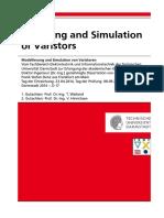 Modeling and Simulation of Varistors