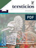 Intersticios 53. Descolonización y transmodernidad II