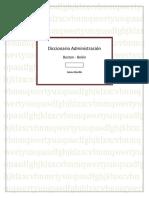 Diccionario Administracion