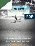 3 Livres 152 Blogueurs