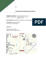PLANTA DE PRODUCCIÓN DE DETERGENTES SINTÉTICOS