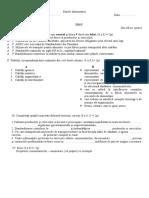 Test Model Alimentatie 1