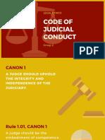 Code of Judicial Conduct (1)
