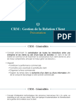 Brouillon présentation CRM