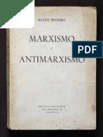 1935 Marxismo y Antimarxismo Ensayo Julian Besteiro