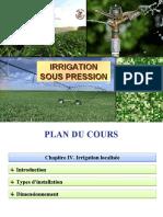 Chapitre_IV_Cours Irrigation sous pression
