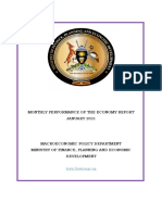 Performance of the Economy Monthly Report - January 2021