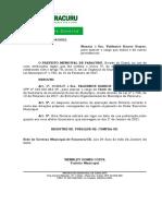 Port. 24 - Nomeação Valdenice Barros Gomes