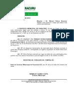Port. 28 - Nomeação Ubiraci Uchoa Barreira Junior
