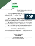 Port. 31 - Nomeação Francisco Marciano P. Dantas