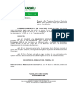 Port. 29 - Nomeação Francisco Gustavo Costa Da Rocha