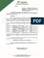 Port. 54- Designa Comissão de Inventário