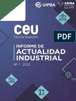 Informe Actividad Industrial CEU