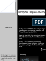 Computer Graphics Theory_Rendering