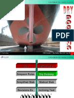 1.0 Dry Docking