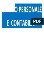 Ufficio Personale e Contablità