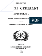 Selectae Sancti Cypriani Epistolae 000000471