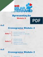 APRESENTAÇÃO - Módulo 2 (Curso Auxiliar Veterinário)