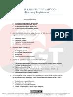 #TemarioCGT2020 · TEST T1 Productos y Servicios Postales (Ordinarios y Registrados) PDF Licencia