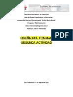 ESTRUCTURA ORGANIZACIONAL - UNIDAD V - ACT 2