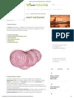 Cipolle_ proprietà, valori nutrizionali, calorie - Cure-Naturali.it