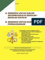 Seri Dokumen Gerejawi No 117 Mendidik Untuk Dialog Antarbudaya Di Sekolah Katolik Humanisme Persaudaraan