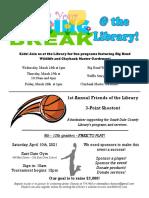 3.2021 March Kids Newsletter Flyer