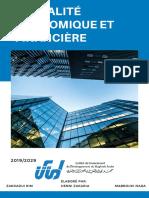Blue Simple Minimal Corporate Annual Report