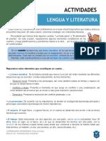 3° AÑO LENGUA Y LITERATURA TP 8