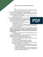 Resumen eje 10 contencioso administrativo
