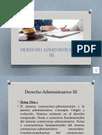 1. Contencioso Administrativo venezolano