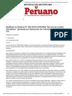 RESOLUCION - N° 144-2020-CG - ORGANOS AUTONOMOS - CONTRALORIA GENERAL