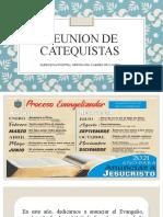 REUNION DE CATEQUISTAS