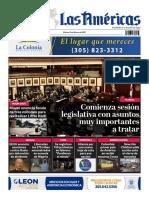 Portada 2 de Marzo 2021 Diario Las Américas