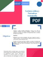 Propuesta de intervención - Lectura critica y transmedia