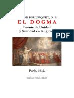 El Dogma, fuente de unidad y santidad en la Iglesia - E. A. de Poulpiquet
