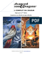 AD&D - Manuel Joueur 1.1 (Rév.6)
