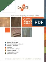 Catalogue Daniels 2020