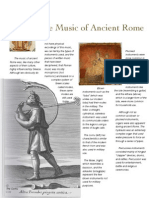 Music of Ancient Rome