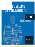 Audience Selling for Publishers