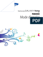 Samsung Galaxy Note 10.1 - Manuel - FR