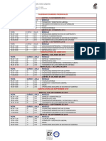 Calendario exámenes e-learning 18-19