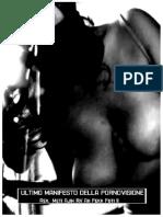 _ultimo Manifesto Della Pornovisione