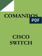 Comandos Cisco Swtich