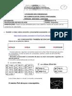 PORTUGUES ENCONTRO CONSONANTAL-13 A 17 DE JULHO LINGUA PORTUGUESA
